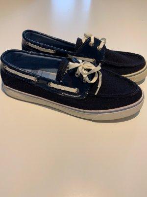 Sperry top-sider Scarpa da barca blu scuro-bianco