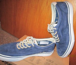 Sperry top-sider Sailing Shoes blue leather