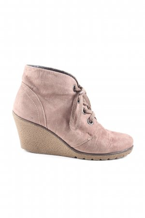 spicy Keil-Stiefeletten pink Casual-Look