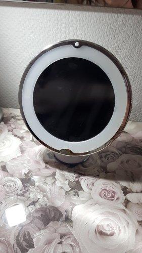 Spiegel mit Beleuchtung und Saugnapf