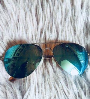 Spiegel Sonnenbrille im Pilotenstyle