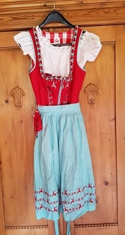 Spieth & Wensky Dirndl multicolored cotton