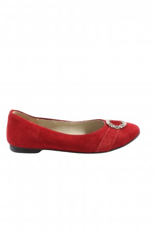 Spieth & Wensky Foldable Ballet Flats red casual look
