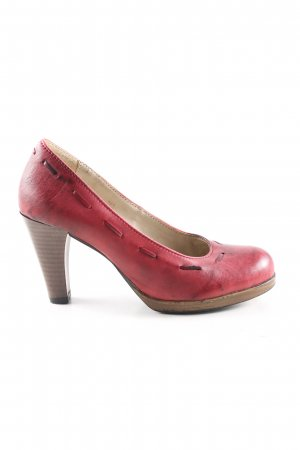 Spieth & Wensky High Heels rot Casual-Look
