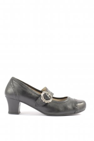 Spieth & Wensky High-Front Pumps black casual look