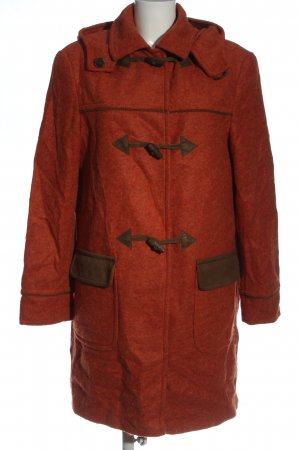 Spieth & Wensky Hooded Coat red casual look