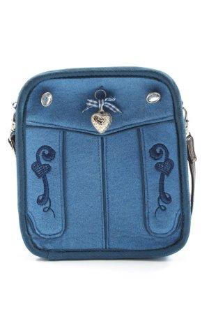 Spieth & Wensky Torebka mini niebieski W stylu casual