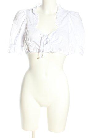 Spieth & Wensky Trachtenbluse weiß Elegant