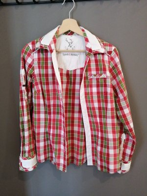 Spieht & Wensky Traditional Blouse red