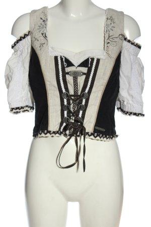 Spieth & Wensky Tradycyjna bluzka Wielokolorowy Elegancki