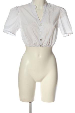 Spieth & Wensky Blusa tradizionale bianco stile classico
