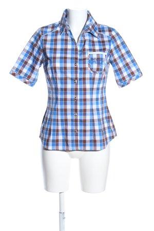 Spieth & Wensky Folkloristische hemd geruite print casual uitstraling