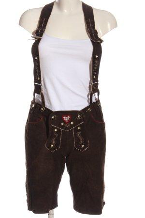 Spieth & Wensky Pantalon bavarois brun style décontracté