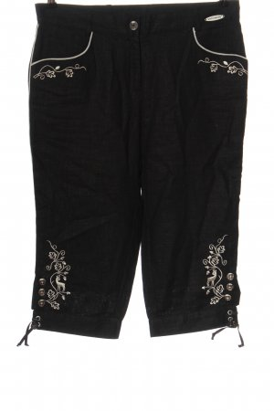Spieth & Wensky Traditional Trousers black casual look