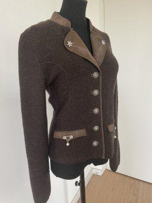 Spieth & Wensky Wool Jacket dark brown