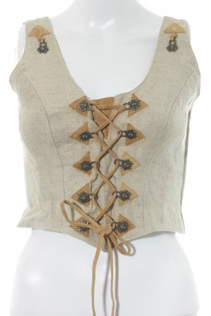 Spieth & Wensky Traditional Camisole cream Band ornaments
