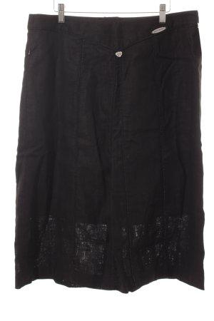 Spieth & Wensky Traditional Skirt black Logo application (metal)