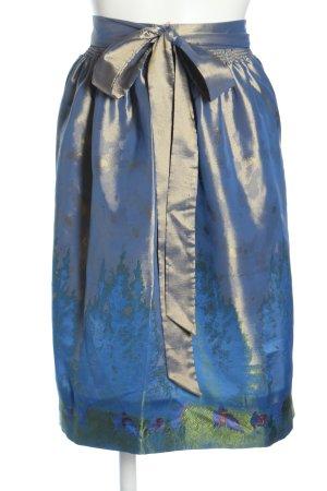 Spieth & Wensky Tradycyjny fartuch  niebieski Styl klasyczny