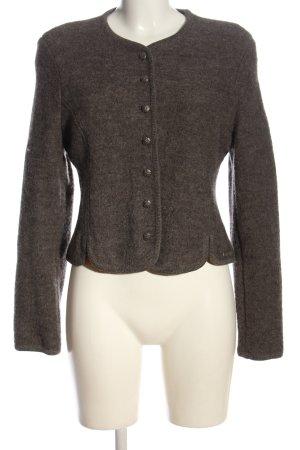 Spieth & Wensky Giacca di lana marrone stile casual