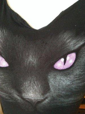 Spiral Tunika Top 36 34-36 Katze Augen Cat Eyes