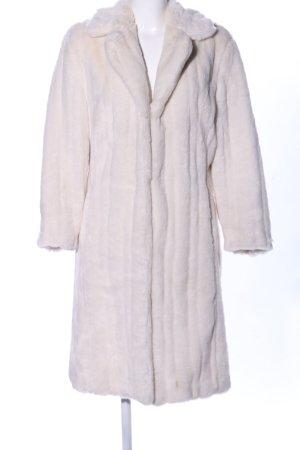 Spiritus by Enjoy Cappotto in eco pelliccia bianco sporco stile casual