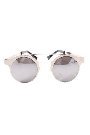 Spitfire Gafas de sol redondas color plata look casual