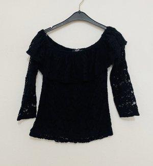 Vintage Long Blouse black