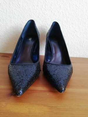 Joy Spitse pumps donkerblauw