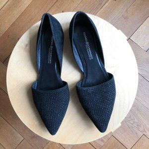 Kennel & Schmenger Ballerinas with Toecap black leather