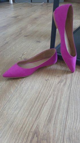 Spitze Ballerinas in purple