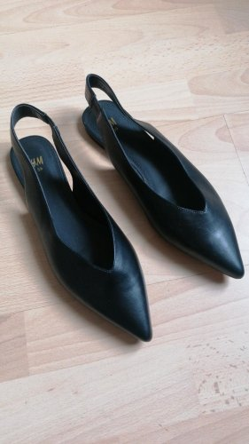 H&M Ballerina a punta nero