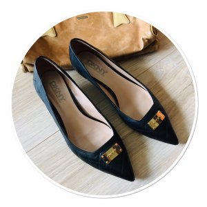 Spitze DKNY Pumps Steppleder Gr.39
