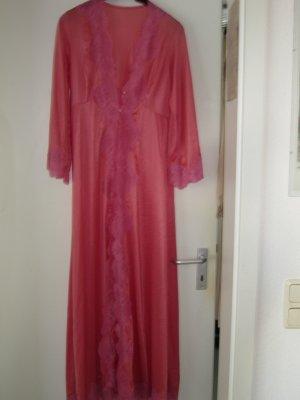 Dressing Gown pink polyamide