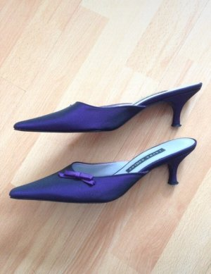 Laura Ashley Spitse pumps donkerpaars-blauw-paars