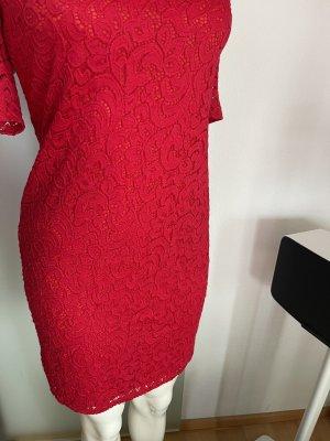 Spitze Kleid  Gr 36 38 S
