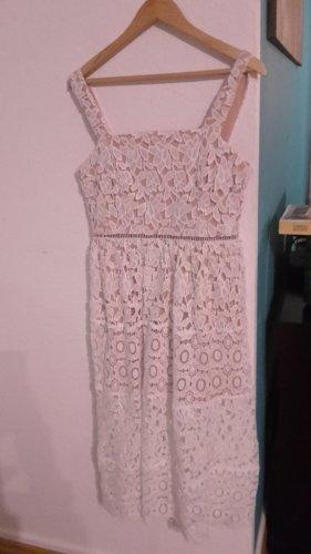 Spitze Kleid Midi