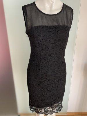 Spitze - Netz Kleid Gr 36 38 M von Zero