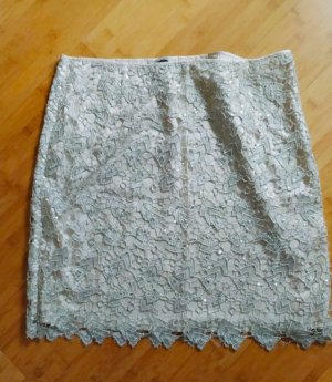 HM Lace Skirt cream-beige