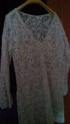 argento Beachwear white