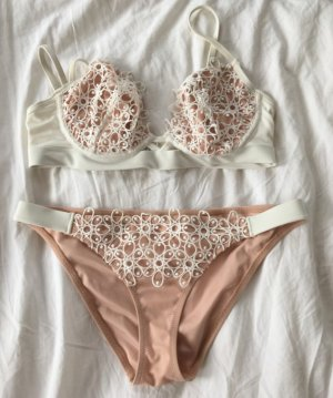 Asos Bikini pink-natural white