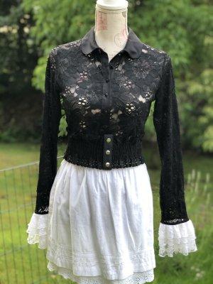 Spitzen Bluse von Anne Fontaine. Vintage!