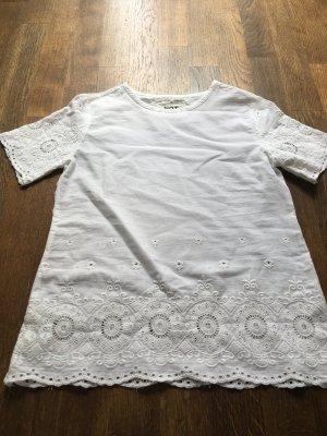Spitzen Blusenshirt
