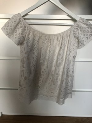 Spitzen Carmen-Bluse