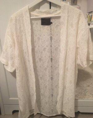 Asos Bluzka kimono biały