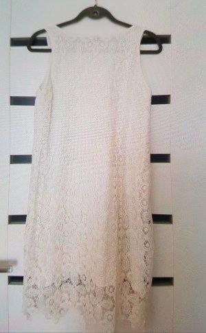 Spitzen Kleid in weiß
