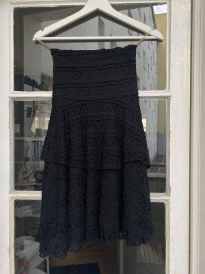 Spitzen Kleid trägerlos