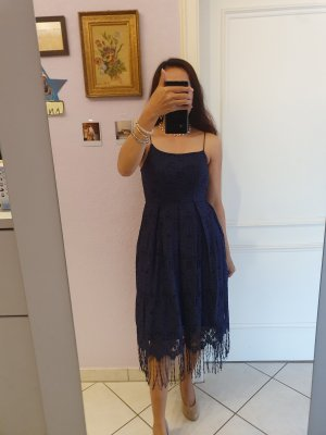 H&M Beach Dress dark blue
