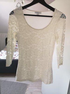 Amisu Camicia maglia bianco sporco