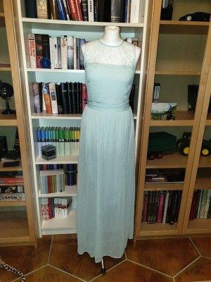 Spitzen Maxikleid Vila Gr. 36 (S) Mint langes Kleid Sommerkleid