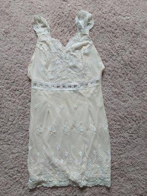 Spitzen Minikleid,  Sommerkleid